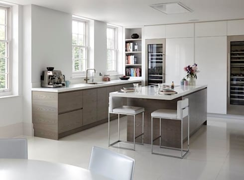Purity: modern Kitchen by Mowlem&Co
