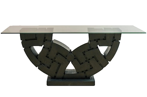 MICA Zen Sculpture Dining Table:  Household by Mica Gallery Ltd