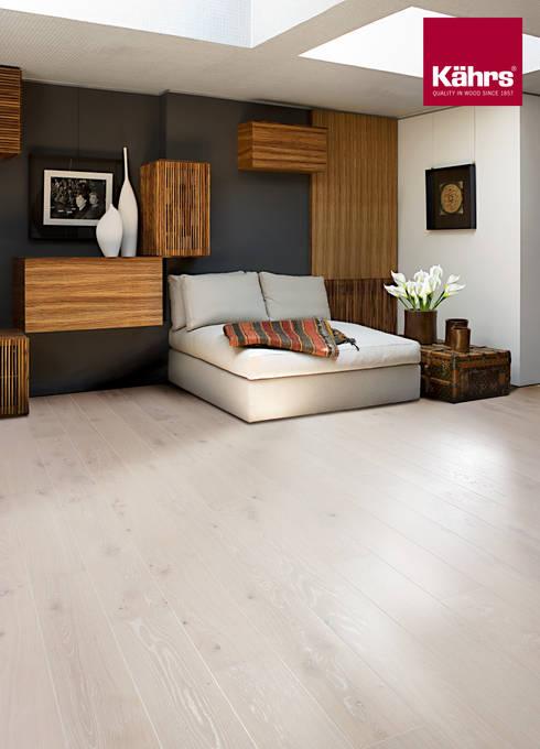 Bedroom by Kährs Parkett Deutschland