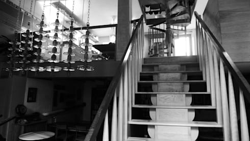 Usine Electrique: industrial Houses by David Arnold Design