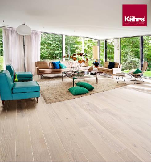 Living room by Kährs Parkett Deutschland