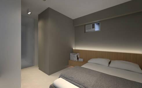 LT's RESIDENCE: minimalistic Bedroom by arctitudesign