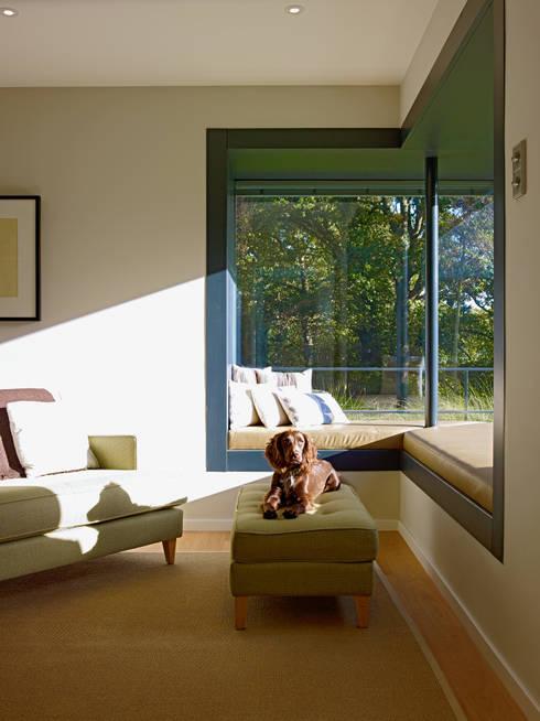 Projekty,  Salon zaprojektowane przez Bau-Fritz GmbH & Co. KG