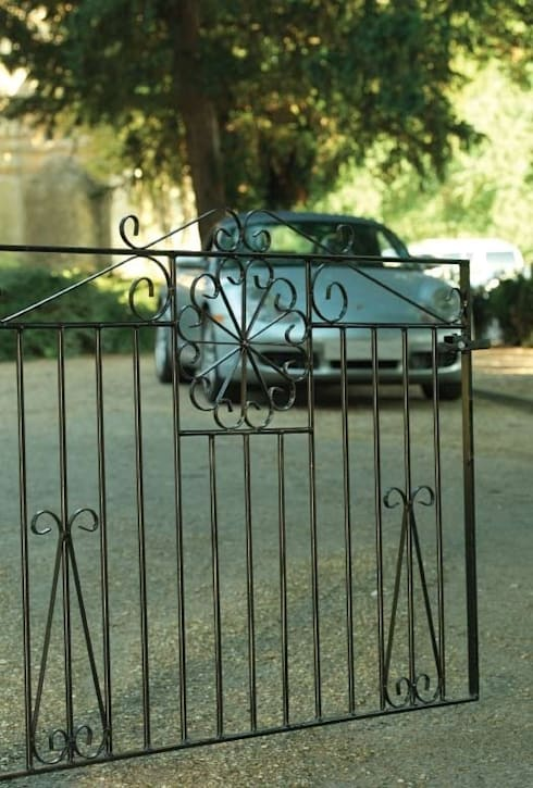 A Selection of Wrought Iron Gates:  Garden  by Garden Gates Direct