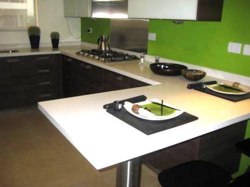 Cocinas y closet: Cocina de estilo  por Softlinedecor