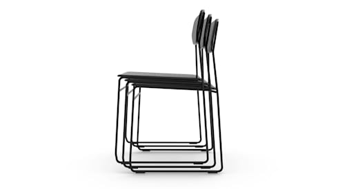 Naked Chair:  Dining room by Deadgood Trading Ltd