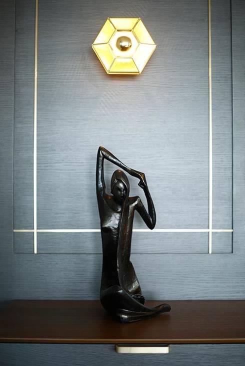 modern Living room by Esra Kazmirci Mimarlik