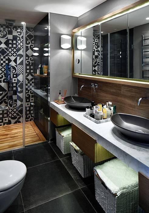 Bathroom by Esra Kazmirci Mimarlik