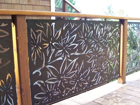 laser & water  jet products:  Interior landscaping by RISING STAR STEEL INDUSTRIES