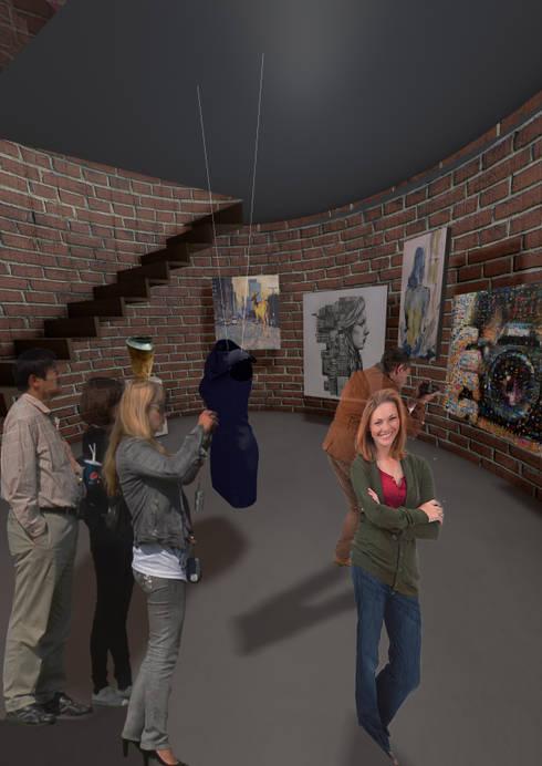 Exhibition Kiln 2 Students work level 1:   by Interior Design Graduate