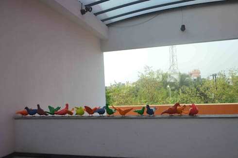 haldia city center art project , ART FOR  EVERY ONE :  Artwork by mrittika,  the sculpture