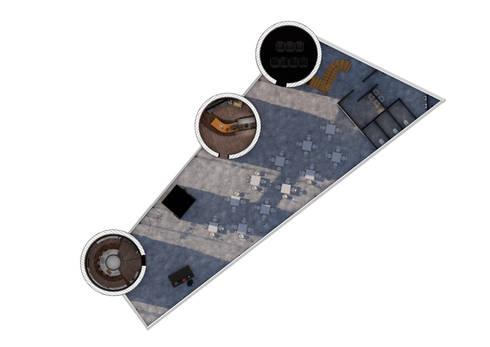Ground Floor Plan:   by Interior Design Graduate
