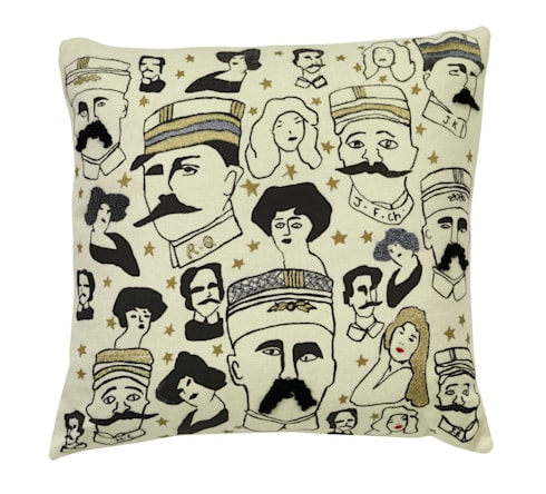Moustaches: modern Living room by Fine Cell Work