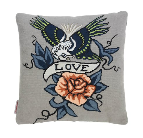Love Eagle (large) - Grey: modern Living room by Fine Cell Work
