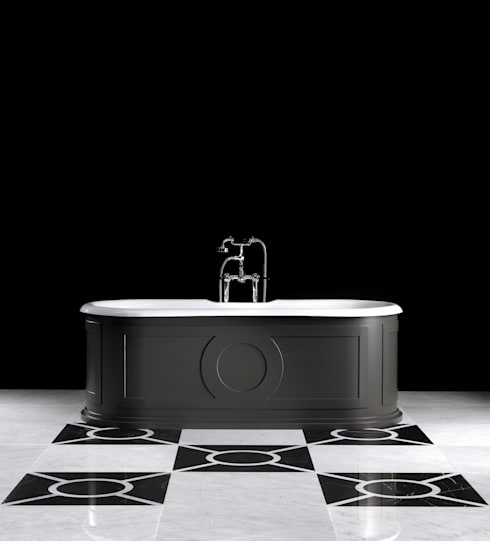 modern Bathroom by Devon&Devon UK