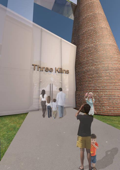 Three Kilns Entrance:   by Interior Design Graduate
