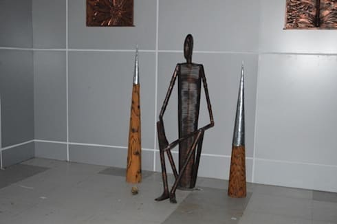 corporate  project at Kolkata, west Bengal India:  Artwork by mrittika,  the sculpture