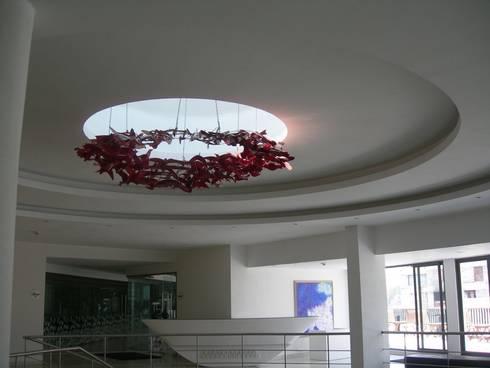 metal hanging  sculpture:  Artwork by mrittika,  the sculpture