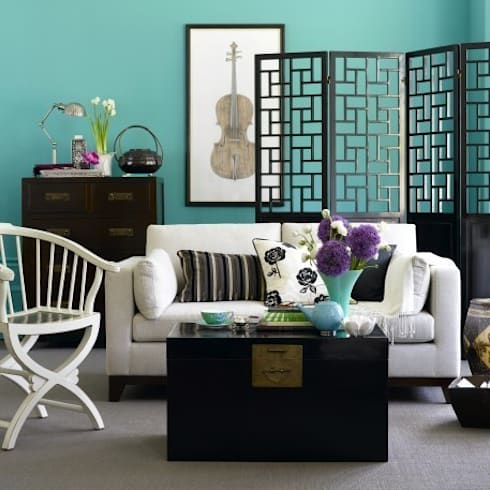 Black Lacquer Storage Trunk : asian Bedroom by Orchid