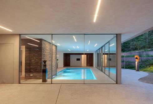 Zwembad: modern Zwembad door HILBERINKBOSCH architecten