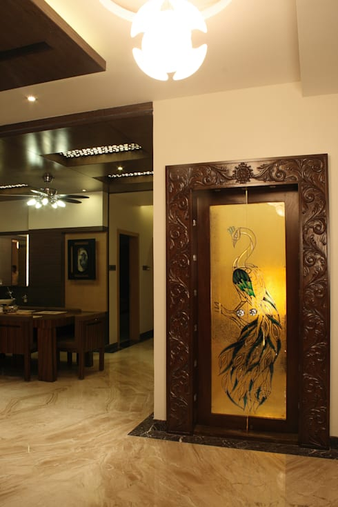Pooja Room Door Designs Pooja Room: 10 Pooja Room Door Designs For Your Home