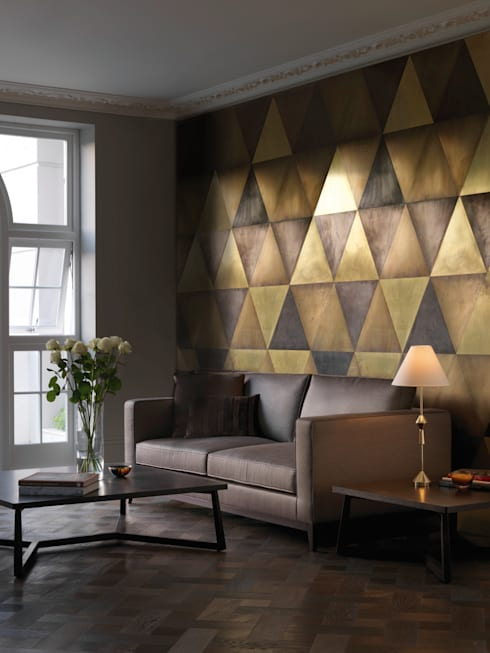 Maya wall tiles:  Corridor, hallway & stairs by CTO Lighting Ltd