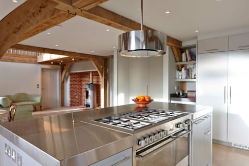 Stable Cottage: country Kitchen by Adam Coupe Photography Limited
