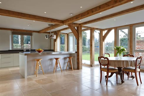 Stable Cottage: country Dining room by Adam Coupe Photography Limited
