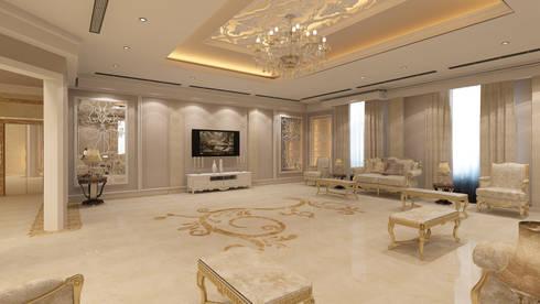 Villa Interior: classic Bedroom by TOPOS+PARTNERS