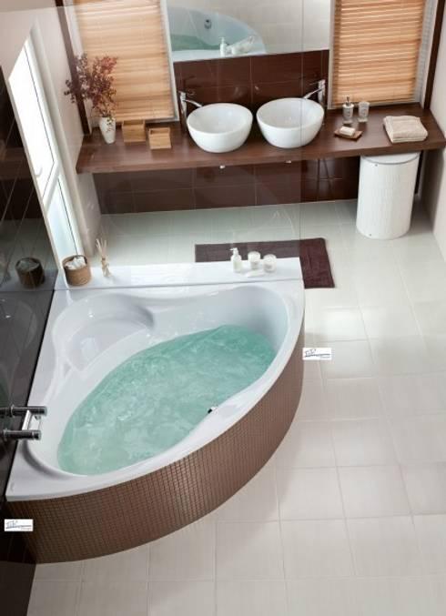 T&R Design Whirlpool Basic Eckbadewanne Thalassa, 150 x 150 x 45 cm:   von T&R Design GmbH