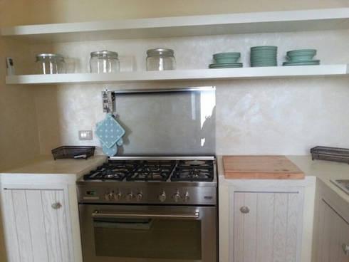 Una cucina al mare di ab design homify - Cucina al mare ...