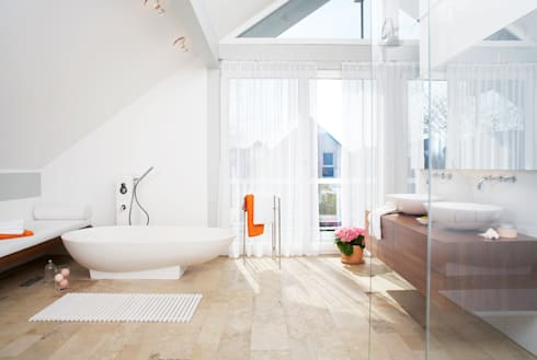 Großes Bad musterbad home staging bavaria homify