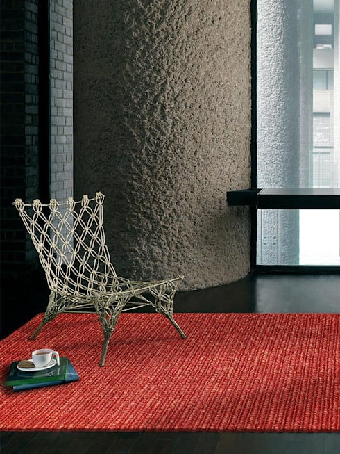 Teppich Jute Loop: moderne Wohnzimmer von benuta GmbH