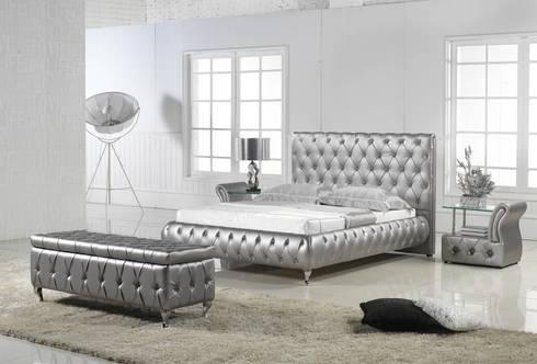 lit design par mobilier nitro homify. Black Bedroom Furniture Sets. Home Design Ideas