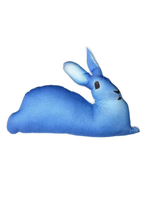 Coussin lapin bleu: Chambre d'enfants de style  par Claire et Pierre éditions