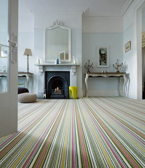 Biscayne Stripe:  Walls & flooring by Wools of New Zealand