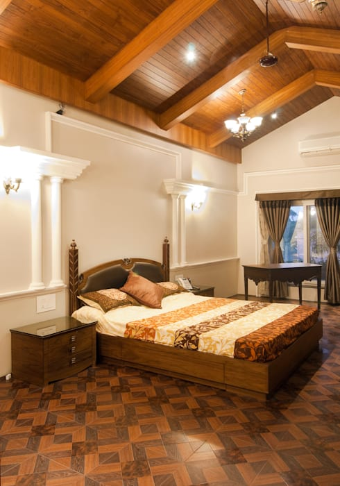 mr. vikas agrawal:  Bedroom by artha interiors private limited