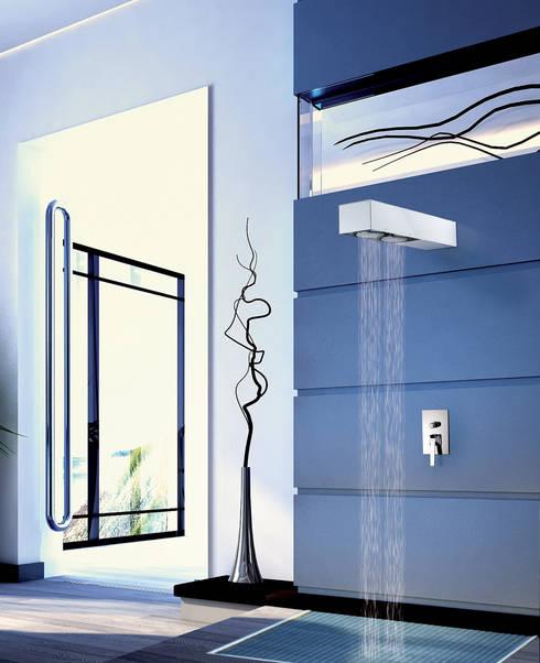 Baños de estilo  por Davide Vercelli Studio di Progettazione