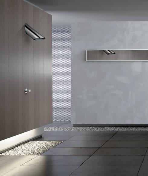 Casa de banho  por Davide Vercelli Studio di Progettazione