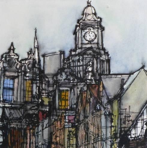 CHANGING CHANNEL:  Artwork by Colin Binns