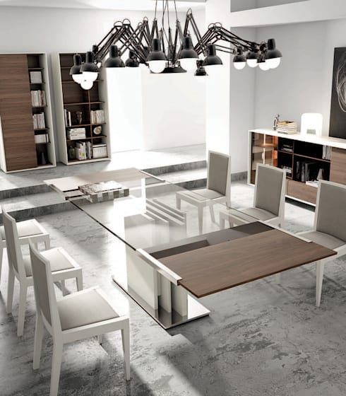 modern Dining room by Quality Lounge Suites