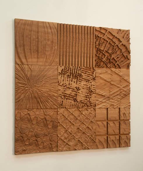 Patchwork Oak 9:   by Sandra Owens