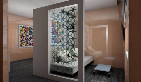 PROGETTO + ARREDAMENTO + HOTEL + CONTRACT + LIGURIA di Designer1995 Live Work Design  homify
