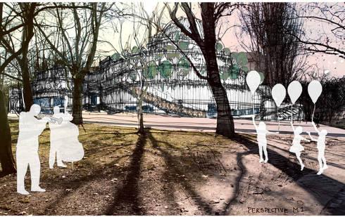 The House of Hungarian Music:  de estilo  de Ricardo Bofill Taller de Arquitectura
