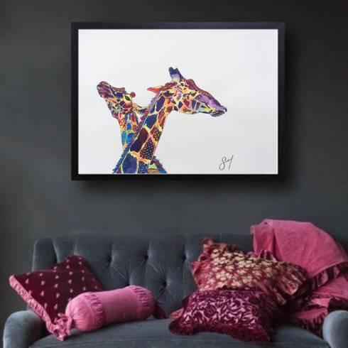 Arte Sofbcngallery : Arte de estilo  por Sofbcngallery
