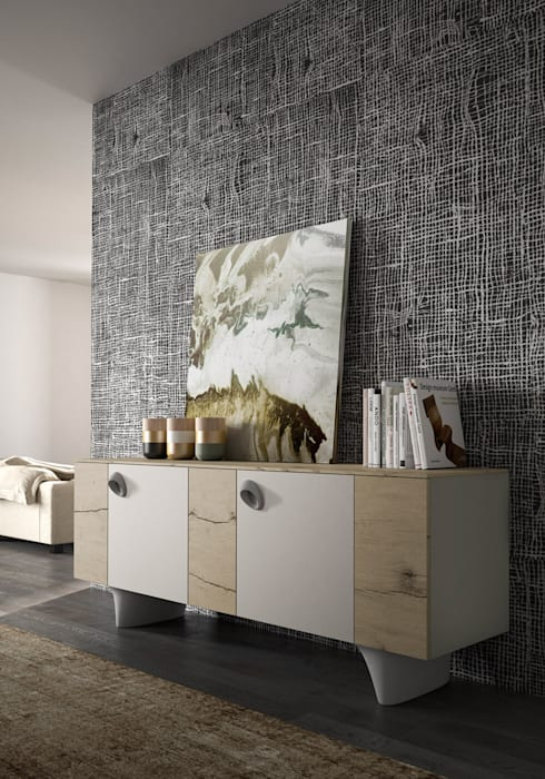 Madia Pop Mobilificio San Michele gruppo Homes by Inmateria | homify