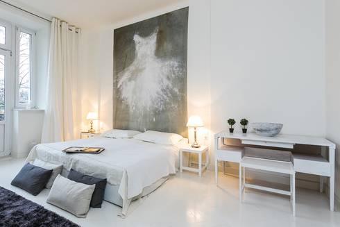 Fotografia wnętrz – portfolio: styl , w kategorii Sypialnia zaprojektowany przez Michał Młynarczyk Fotograf Wnętrz