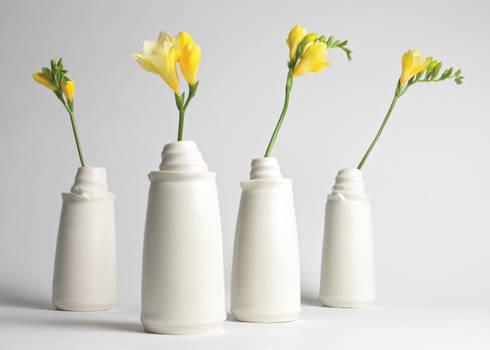 The Vases:  Artwork by Jo Davies Ceramics
