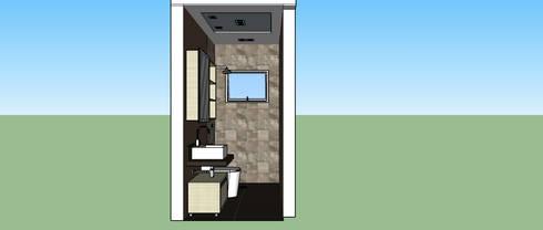 Banheiro Suíte:   por Interior Design Christiano Carvalho