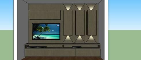 Home Cinema:   por Interior Design Christiano Carvalho